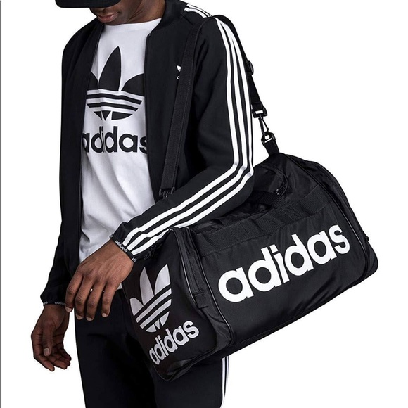 c8a7a00a2197 Adidas Large Santiago Duffel Bag Travel Gym